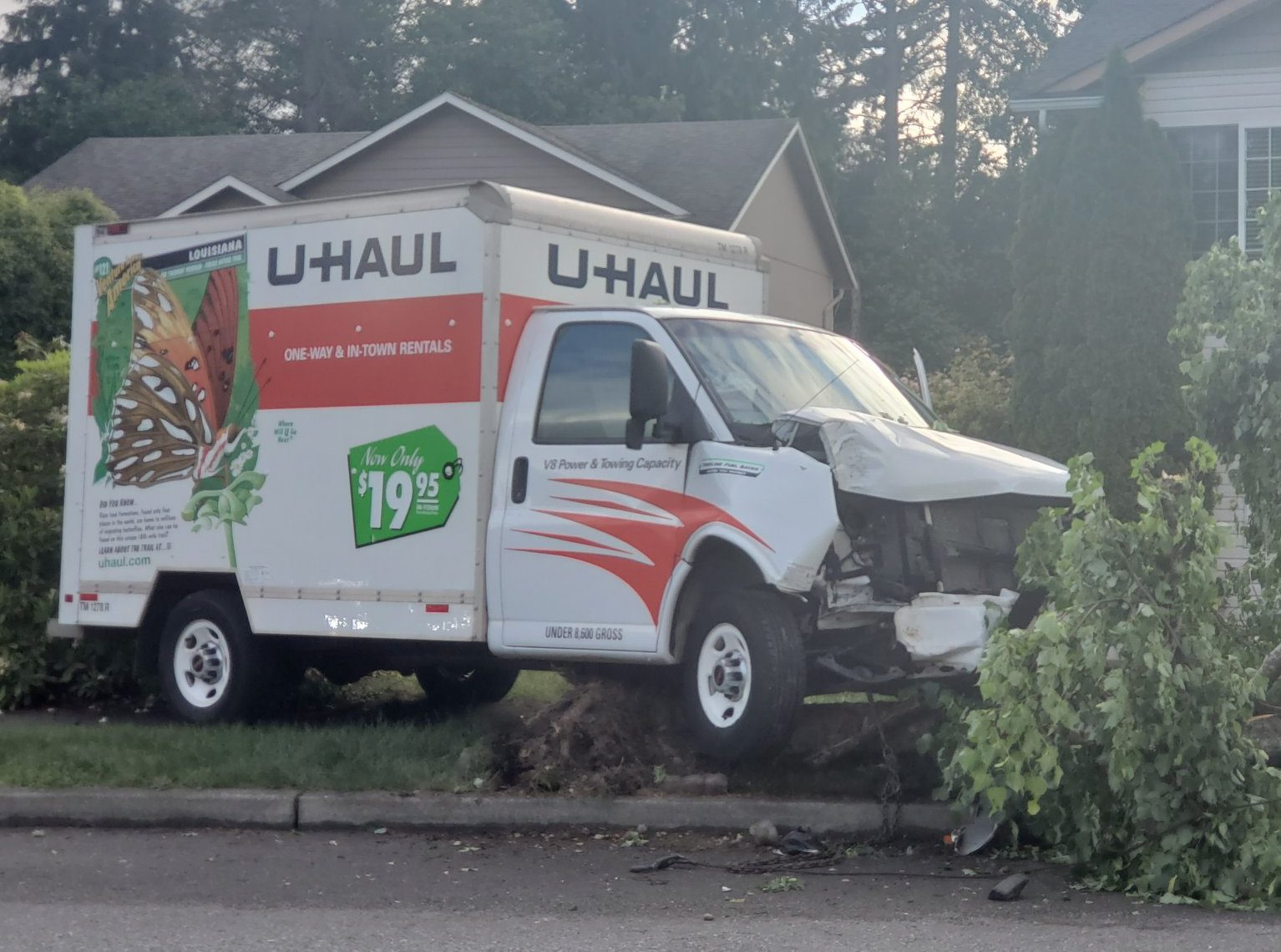 Uhaul accident and if you are covered on your auto insurance while renting one? The Miller Insurance Agency - Everett, WA